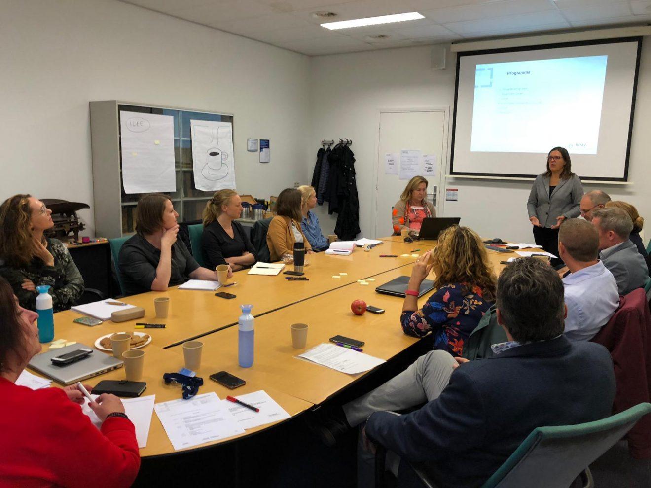 Capaciteitsmanagement- bijeenkomst