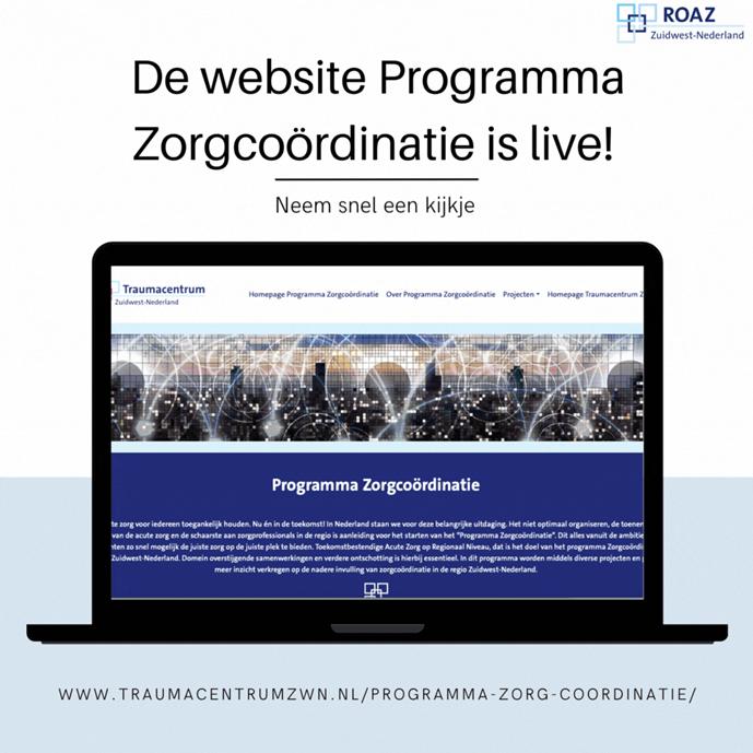 WEBSITE PROGRAMMA ZORGCOÖRDINATIE IS LIVE!