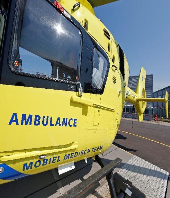 Inzet Lifeliner 5 ambulancehelikopter gestopt